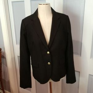 J.Crew black blazer size 10.